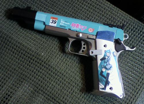 初音ミクの痛銃